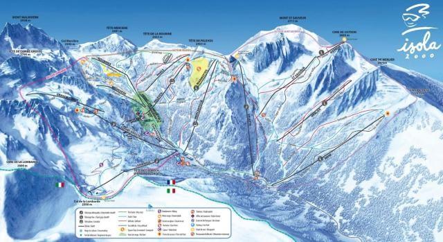 Domaine skiable d'Isola 2000 Votre terrain de jeu
